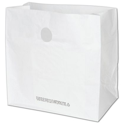 White Diner Catering Bags, 14 x 10 x 14