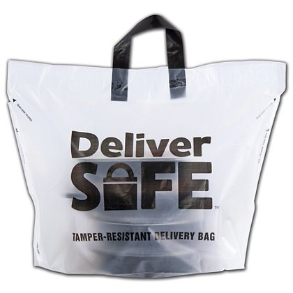 "Deliver Safe Bags, 21 x 15"" + 10"" Bottom Gusset"