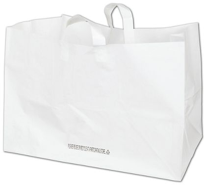"""White Full Tray Catering Bags, 22 x 14 x 15 1/4"""""""