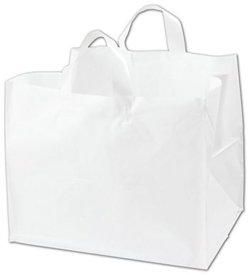 White Half Tray Catering Bags, 14 x 11 1/2 x 12