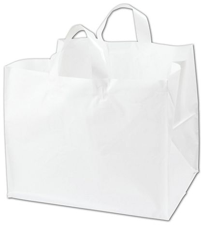 """White Half Tray Catering Bags, 14 x 11 1/2 x 12"""""""