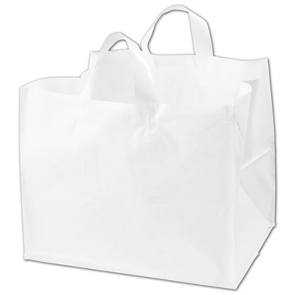 White Half Tray Catering Bags, 14 x 11 1/2 x 12""