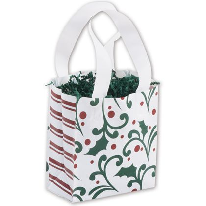 "Deck the Halls Shoppers, 6 1/2 x 3 1/2 x 6 1/2"", Mini Pack"