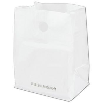 White Roaster Catering Bags, 12 x 9 x 16