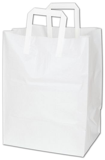White Cake Take-Out Catering Bags, 12 x 10 x 16