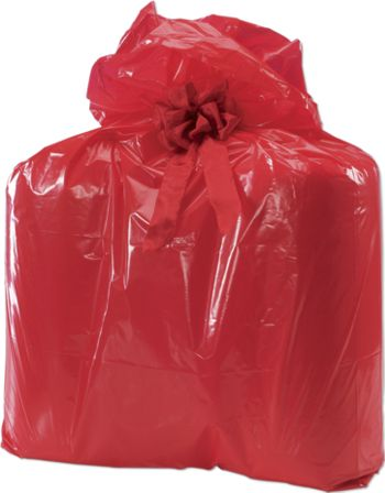 Holiday Big Red Jumbo Bags, 24 x 6 x 42