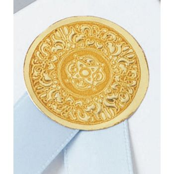 Gold Medallion Seals, 1""