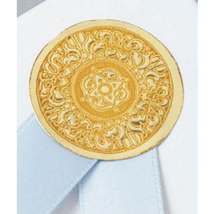 "Gold Medallion Seals, 1"""