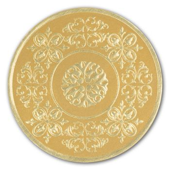 Gold Medallion Seals, 1 7/8