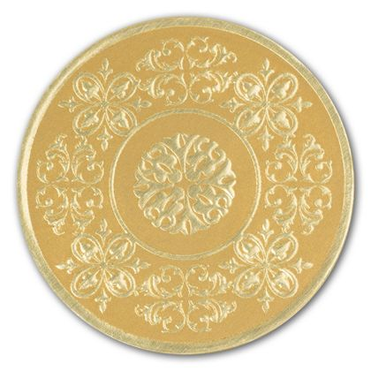 Gold Medallion Seals, 1 7/8""
