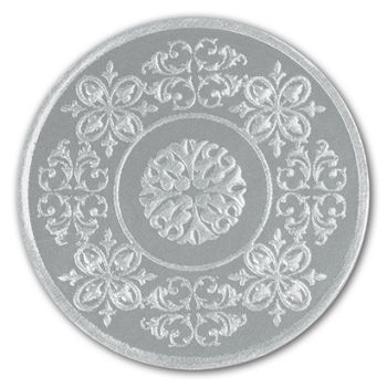 Silver Medallion Seals, 1 7/8
