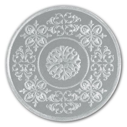 Silver Medallion Seals, 1 7/8""