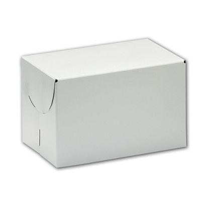 White Two-Piece Boxes, 11 x 11 x 3 3/4""