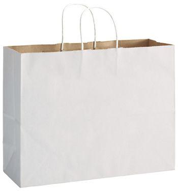 White Duet Shoppers Vogue, 16 x 6 x 12 1/2