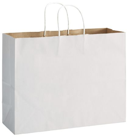 "White Duet Shoppers Vogue, 16 x 6 x 12 1/2"""
