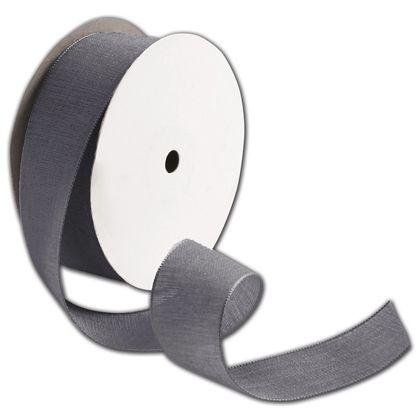 """Teagan Pewter Ribbon, 1 1/2"""" x 25 Yds"""