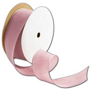 Teagan Pink Blush Ribbon, 1 1/2