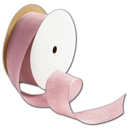 """Teagan Pink Blush Ribbon, 1 1/2"""" x 25 Yds"""