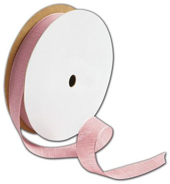 Teagan Pink Blush Ribbon, 5/8