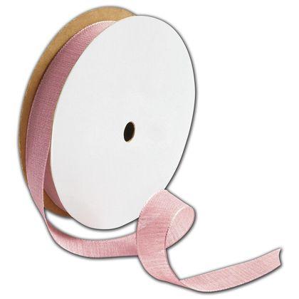 """Teagan Pink Blush Ribbon, 5/8"""" x 25 Yds"""
