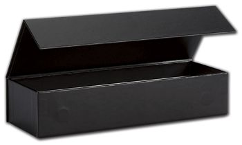 Black Malibu Magnetic Boxes, 8 x 2 3/4 x 1 5/8