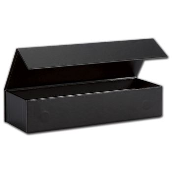 Black Malibu Magnetic Boxes, 8 x 2 3/4 x 1 5/8