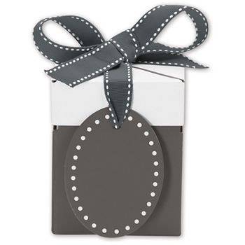 Grad Grey Giftalicious Pop-Up Boxes, 3 x 3 x 3 1/2