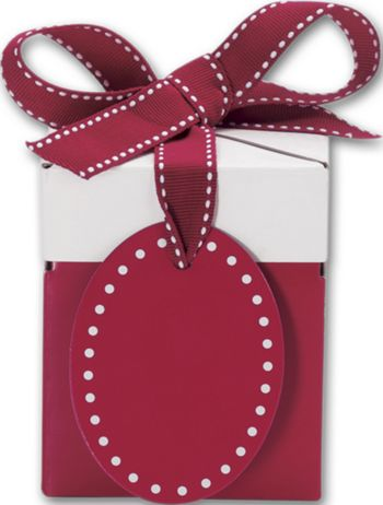 Ruby Red Giftalicious Pop-Up Boxes, 3 x 3 x 3 1/2
