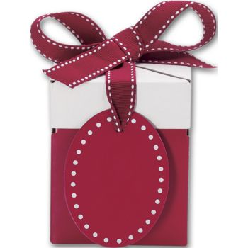 Ruby Red Giftalicious Pop-Up Boxes, 3 x 3 x 3 1/2""