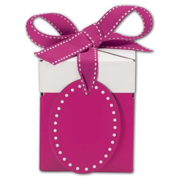 Pretty in Pink Giftalicious Pop-Up Boxes, 3 x 3 x 3 1/2