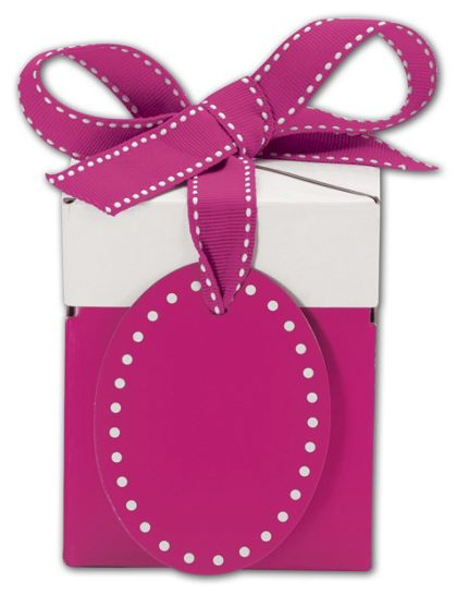 Pretty in Pink Giftalicious Pop-Up Boxes, 3 x 3 x 3 1/2""