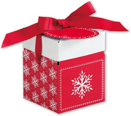 Presents Please Giftalicious Pop-Up Boxes, 3 x 3 x 3 1/2""