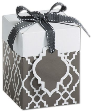 Trippie Trellis Giftalicious Pop-Up Boxes, 4 x 4 x 4 3/4