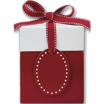 Ruby Red Giftalicious Pop-Up Boxes, 4 x 4 x 4 3/4