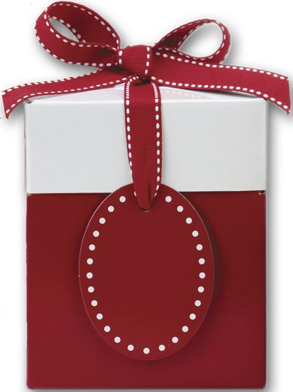 Ruby Red Giftalicious Pop-Up Boxes, 4 x 4 x 4 3/4""