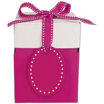 Pretty in Pink Giftalicious Pop-Up Boxes, 4 x 4 x 4 3/4""