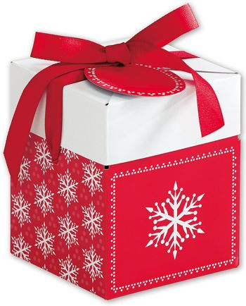 Presents Please Giftalicious Pop-Up Boxes, 4 x 4 x 4 3/4