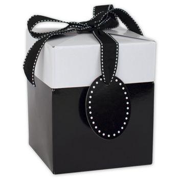 Black Tie Giftalicious Pop-Up Boxes, 5 x 5 x 6