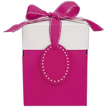 Pretty in Pink Giftalicious Pop-Up Boxes, 5 x 5 x 6""