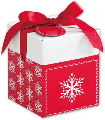Presents Please Giftalicious Pop-Up Boxes, 5 x 5 x 6