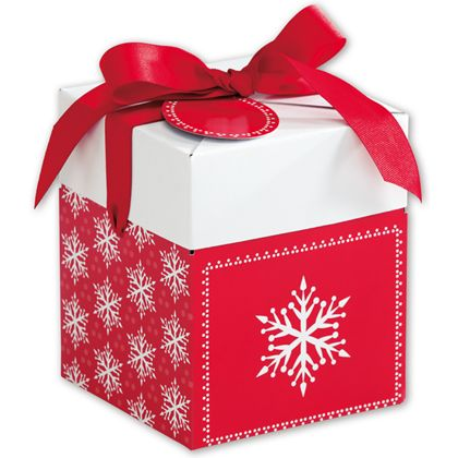 Presents Please Giftalicious Pop-Up Boxes, 5 x 5 x 6""