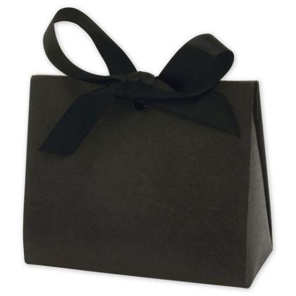 "Black Kraft Purse Style Gift Card Holders, 4 1/2x2x3 3/4"""