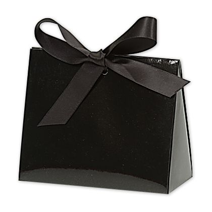 Black Gloss Purse Style Gift Card Holders