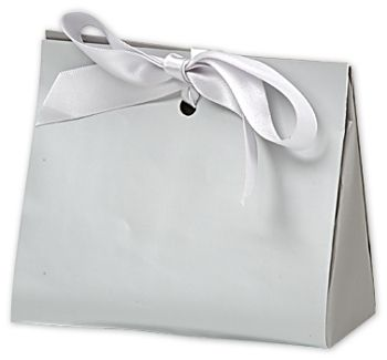 Chrome Matte Laminated Purse Style Gift Card Holders
