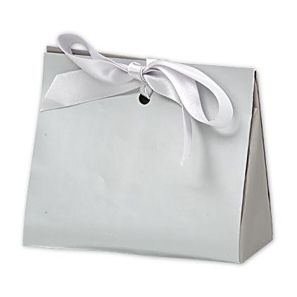 "Chrome Purse Style Gift Card Holders, 4 1/2 x 2 x 3 3/4"""