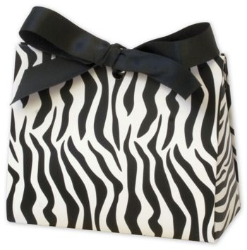 Zebra Purse Style Gift Card Holders, 4 1/2 x 2 x 3 3/4