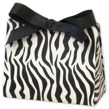 Zebra Purse Style Gift Card Holders, 4 1/2 x 2 x 3 3/4