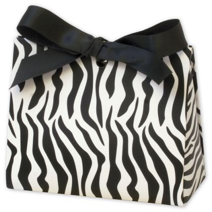 Zebra Purse Style Gift Card Holders, 4 1/2 x 2 x 3 3/4""