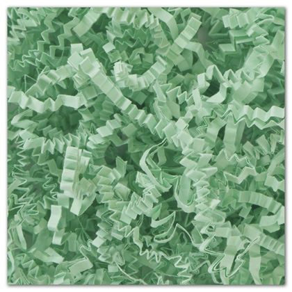 Mint Green Crinkle Cut Fill, 10 lb. Box