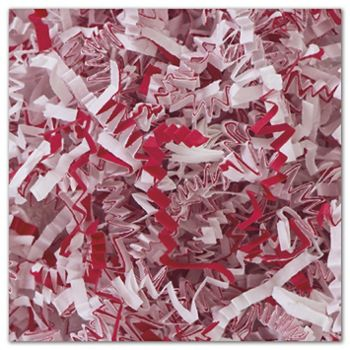 Candy Cane Blend Crinkle Cut Fill, 10 lb. Box